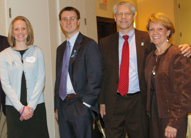 group at Rare Disease Day event