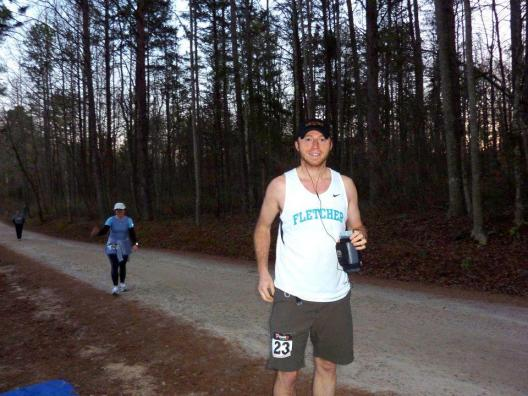 Andrew will be my sighted guide at the Thunder Road Half Marathon this November.