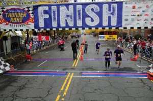 Thunder Road finish