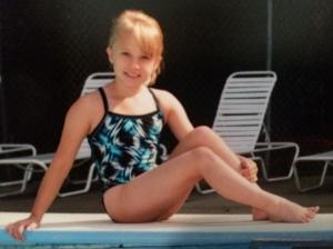 taylor at pool
