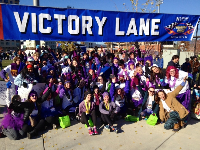 Playing for Others in Victory Lane